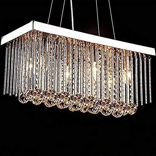 Casa perfetta In Europese stijl woonkamer kristallen kroonluchter L500mm * W200mm * H300mm Home verlichting fabrikant slaapkamer eetkamer aangegeven kristallen lampen groothandel