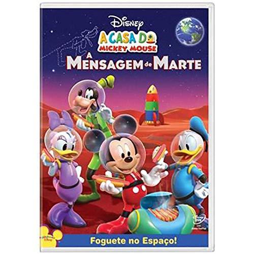 DVD Disney - A Casa do Mickey Mouse A Mensagem de Marte
