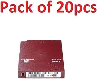 HP C7972AN LTO Ultrium 2 Non-Custom Labeled Tape Cartridge LTO Ultrium LTO-2 - 200 GB (Native)/400 GB (Compressed) - 20 Pack