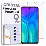 REY Protector de Pantalla para Huawei Honor 20 Lite, Cristal Vidrio Templado Premium