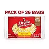 Orville Redenbacher's Butter Popcorn, 3.29 Ounce Classic Bag, Pack of 36