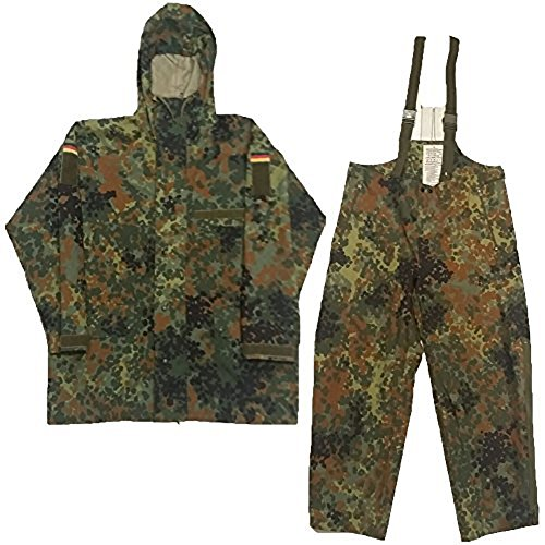 BW Anzug Regen Nässeschutz Jacke + Regenhose Größe: III