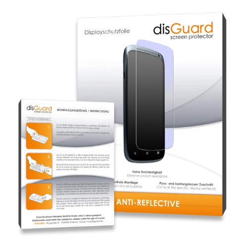 disGuard 3RX023765 antireflektierend und hartbeschichtet Displayschutzfolie für Samsung WB110 / WB-110 (3-er Pack)