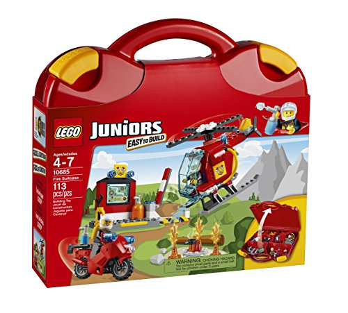 LEGO Juniors Fire Suitcase by LEGO Juniors