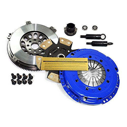 EFT STAGE 3 CLUTCH KIT+CHROMOLY FLYWHEEL FOR BMW 325 328 525 528 M3 Z3 E34 E36 E39
