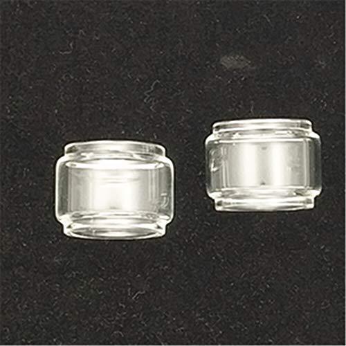Denghui-ec 2 Unids Burbuja Burbuja Tanque de Ajuste para DIGIFLOVOR Siren 2 GTA 24mm 4.5mm / Ajuste para SIREN2 MTL 22mm 2ml / Ajuste para Faraoh Mini RTA Tubo de Cristal de Grasa