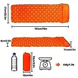 Zoom IMG-1 gintenco materasso da campeggio gonfiabile