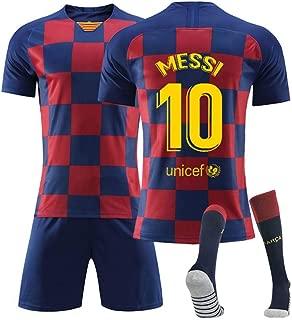 T-Shirt Pantaloncini COOLBOY Lionel Messi 10 Bambino Adulto Maschio Italia Squadra Nazionale Calcio Maglia