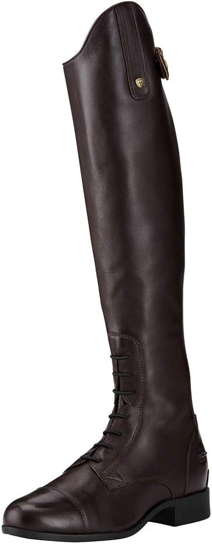 Ariat Reitstiefel Heritage Contour II Field Zip Sienna     Farbe  SIENNA     Gre  6,5 (40)     Schaftform  Tall-Full
