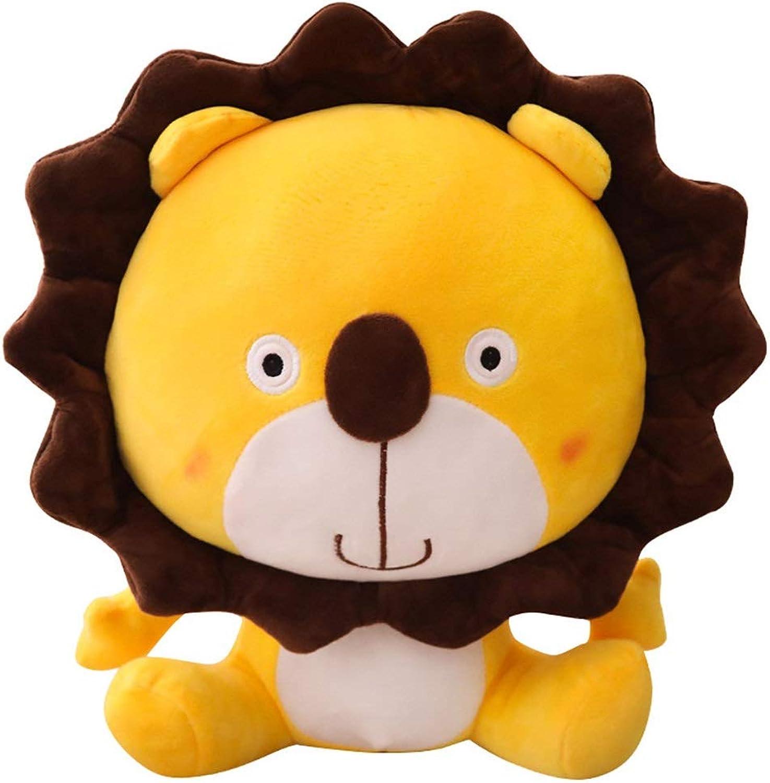 Unbekannt Stoffspielzeug Plüschtiere Tierpuppen Lwenkissen Faule Kissen Süe Puppen Freundin Geschenke (Farbe   Gelb, Größe   60cm)