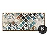 Pintura marroquí patrón moderno decoración del hogar póster y lienzo impreso para sala de estar cocina 40 cm x 100 cm