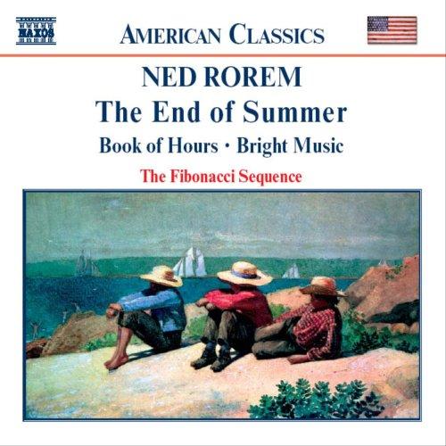 ローレム:室内楽曲集 クラリネット, ヴァイオリンとピアノのための「夏の終わり」/フルートとハープのための「時祷書」/室内楽アンサンブルのための「ブライト・ミュージック」