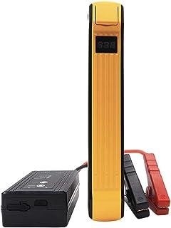 autowit 12V Portable Batteryless Car Jump Starter, Supercap Booster Pack (for 5.0L Gas/3.0L Diesel Engine), 700A Peak /600A Instant, Supersafety, Orange