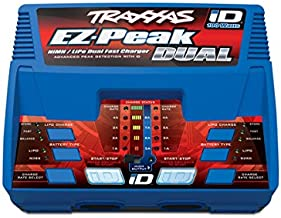 Traxxas 2972 EZ-Peak Plus 100 Watt NiMH/LiPo Dual Charger with iD System
