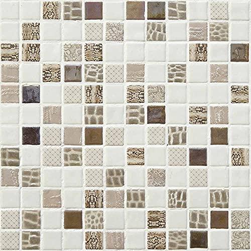 e-ceramica 8436028846825 Mosaico Cristal Beige