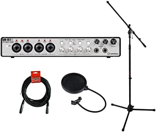 Steinberg UR-RT4 USB Interface with Transformers, MS-5230F Tripod Microphone Stand, XLR Cable & Pop Filter Kit