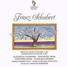 Schubert: Mass, No. 3 / German Mass