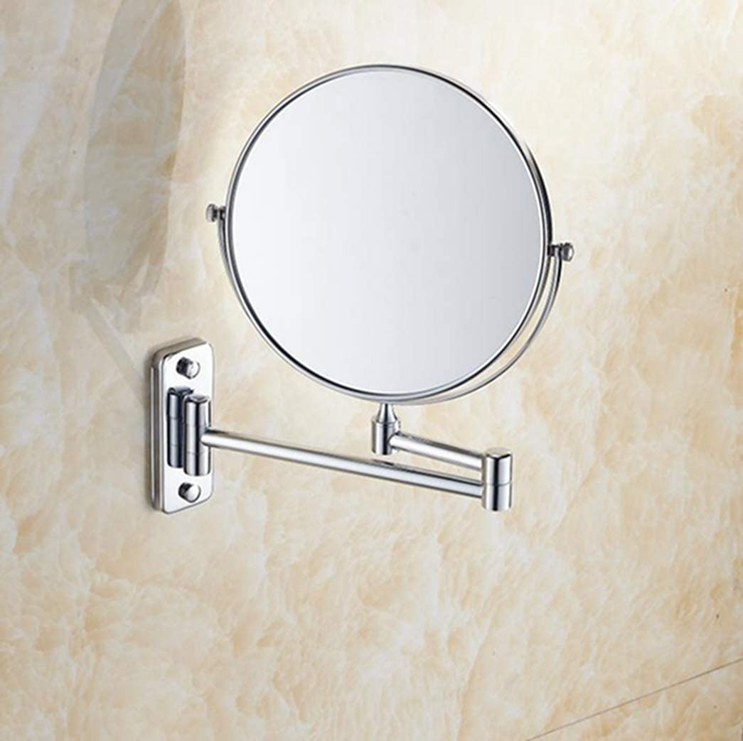 LUDSUY 8 Inventory cleanup selling sale Inches Bathroom Cheap Antique Mirror Wa Copper Plating Beauty