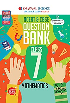 Oswaal NCERT & CBSE Question Bank Class 7, Mathematics (For 2021 Exam) by [Oswaal Editorial Board]