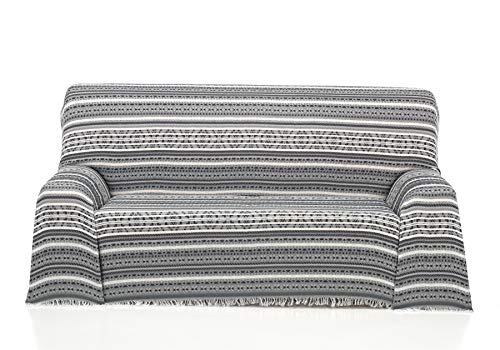 Cardenal Textil Azteca Foulard Multiusos, Gris, 230X290 Cm