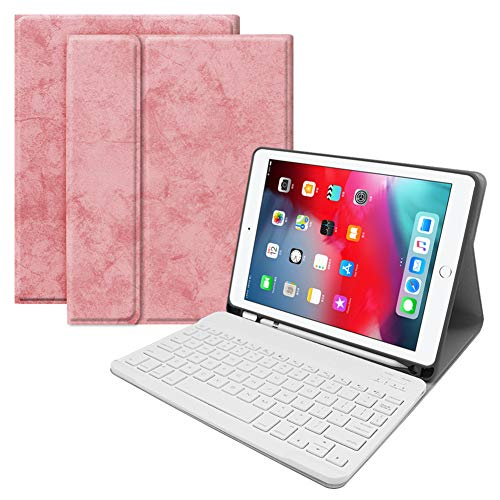 Toetsenbord Case voor Ipad Ultra-Dunne Aluminium Afneembare Bluetooth Draadloos Toetsenbord Stand Apple Potlood Slot Dust-Proof Kan Gebruikt worden op Apple Iphone voor Apple Ipad