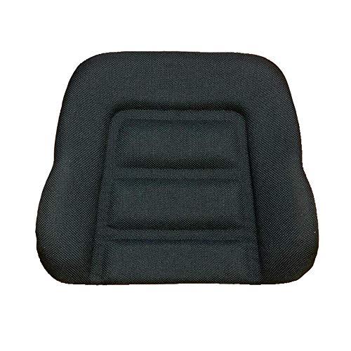 Profistop Rückenpolster Rückenkissen passend Grammer DS85 / 90AR Stoff schwarz Schlepper Stapler Linde