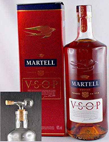 Cognac Martell VSOP + Glaskugelportionierer