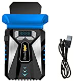 Cosmic Byte Hailstorm Laptop Vacuum Cooler (Black and Blue)