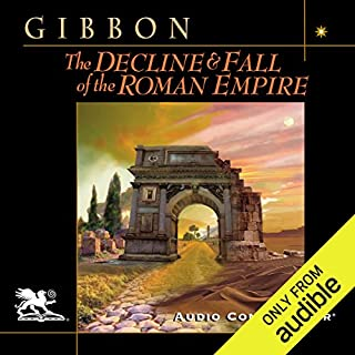 The Decline and Fall of the Roman Empire                   By:                                                                                                                                 Edward Gibbon                               Narrated by:                                                                                                                                 Charlton Griffin                      Length: 126 hrs and 31 mins     417 ratings     Overall 4.3