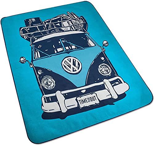 Volkswagen VW Picknick Decke Blau Decke Bulli 7E9084509