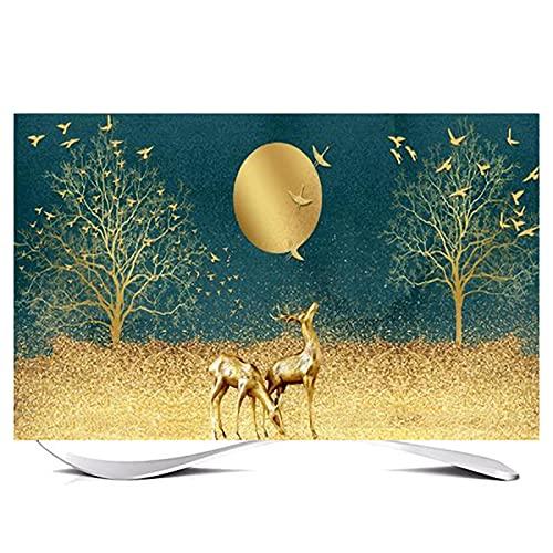 Huis 80in Indoor TV Dust Cover, Cover Type TV Screen Protector Voor Lcd Led Decoratie Televisie Set Cover Waterdichte…