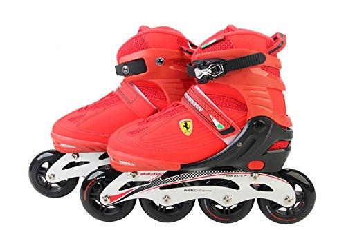 Ferrari Skate FK13 Inline Skate Set, Rot, 31-34