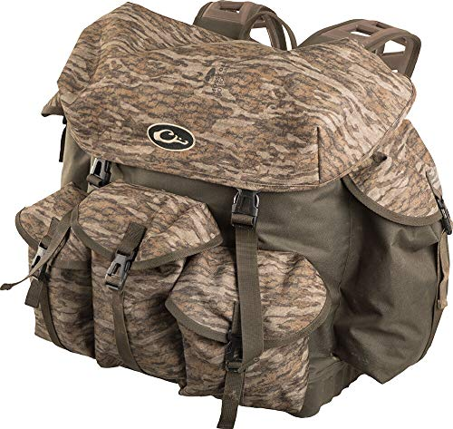 Drake Waterfowl Swamp Sole Backpack 2.0 Mossy Oak Bottomland One Size Fits Most