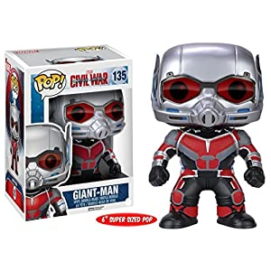 Funko Pop Giant-Man (Capitán América: Civil War 135) Funko Pop Capitán américa