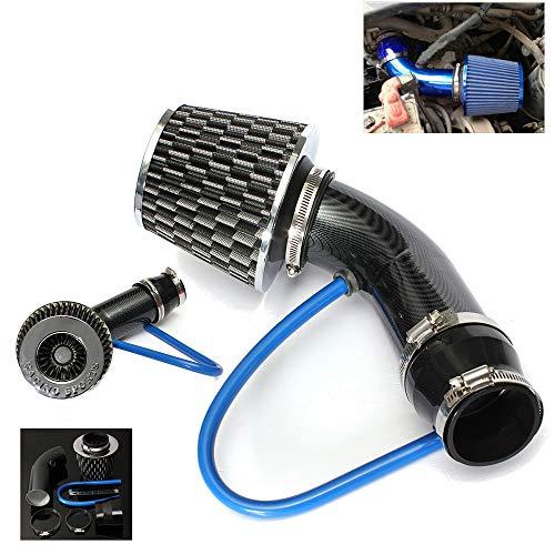 NOBGP Koude Luchtinlaatslang, 76mm 3 Inch Universele Prestaties Auto Koude Luchtinlaat Turbo Filter, Automotive Luchtfilter Aluminium Inductie Stroming Slangbuis Kit