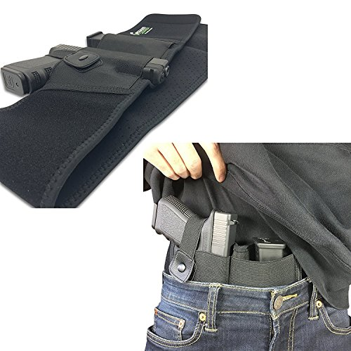 Concealed Carrier Belly Band Holster