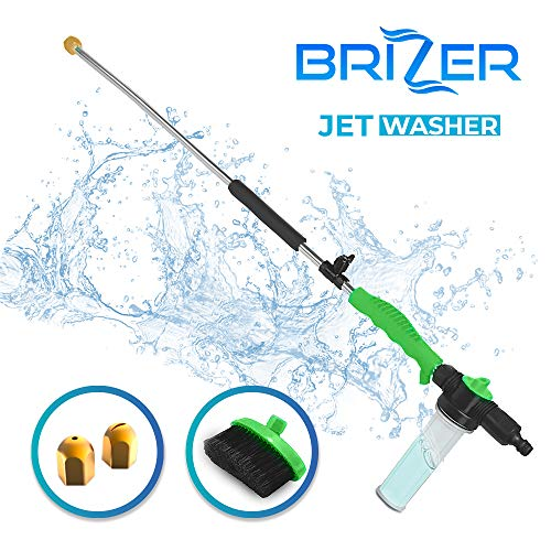 Hydro Jet Sprayer for High Pressure Power Washer Wand – 30 Inch + 9 Inch Long Extendable...