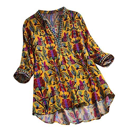 Darringls Magliette Manica Corta Donna Estate Camicia Elegante T-Shirt Tumblr Maglie Donna Taglie Forti Maglietta Ragazza 2019 Moda Canotta Eleganti Top Manica Corta Camicia Lino