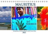 Mauritius - Inselparadies im Indischen Ozean (Tischkalender 2022 DIN A5 quer): Mauritius glaenzt mit einer vielfaeltigen Natur und bezaubernden Landschaften (Monatskalender, 14 Seiten )