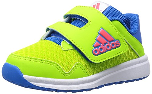 adidas Snice 4 CF I, Zapatos (1-10 Meses) Unisex bebé, Verde/Rojo/Azul (Seliso/Rojimp/Azuimp), 21 EU