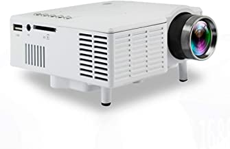 nurrat Mini UC28 Home LED Portable Entertainment HD Projector for Android Video Projectors