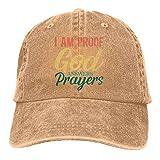 Leumius I Am Proof That God Answers Prayers 5 Sombrero, Gorra de...