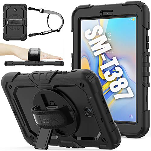 SEYMAC stock Case for SM-T387, for 2018 Version of Galaxy Tab A 8.0, (Not fit Other Galaxy Tab A...