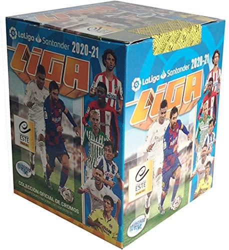'N/A' ¡¡¡ 3ª edición !!! Caja con 50 Sobres Liga Este 2020 2021 los cromos de LALIGA