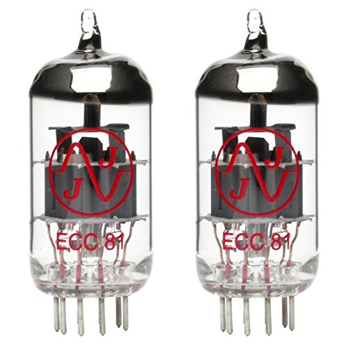 Pair of JJ ECC81/12AT7 Preamp Vacuum Tube