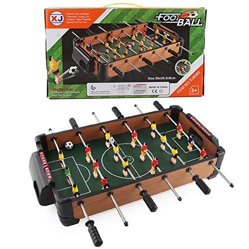 Mini Fußballtisch Kickertisch Fussball Tischfußball Mini Tischkicker Soccer Design Für Spielzimmer, Bars, Partys, Für Erwachsene Und Kinder