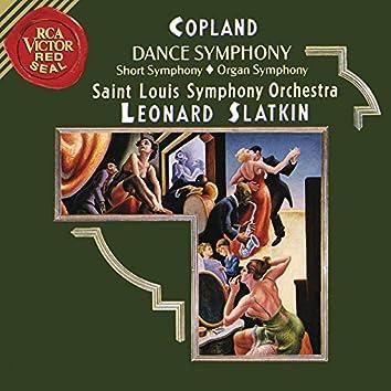 Copland: Dance Symphony & Short Symphony & Organ Symphony