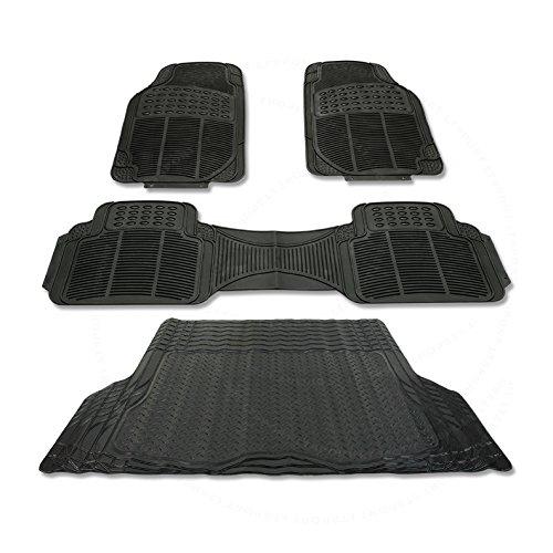 LT Sport SN#100000000845-0776-216 for Jeep Cherokee Waterproof Floor & Trunk Mat 4pcs Set