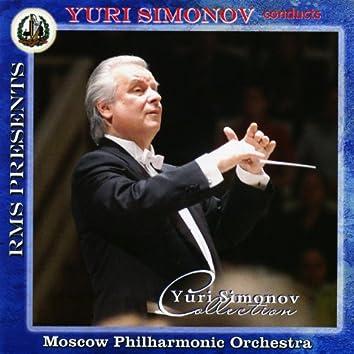 Yuri Simonov Collection: Mozart: Opera Overutres and Symphonies No 39, 40, 41