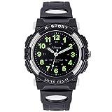 Reloj de pulsera para niños y niñas, analógico, de cuarzo, con correa de...